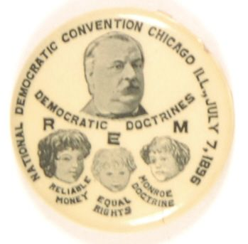 Cleveland 1896 Democratic Convention