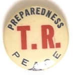 Theodore Roosevelt TR Peace and Preparedness