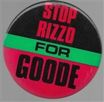 Stop Rizzo for Goode
