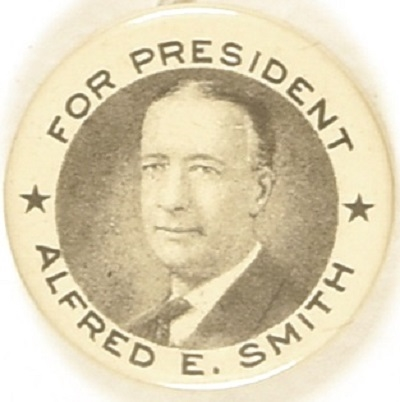 Smith for President Pair of Stars Celluloid