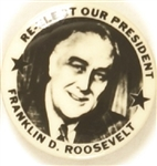 Franklin Roosevelt Re-Elect Our President