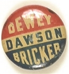 Dewey, Bricker, Dawson West Virginia Coattail