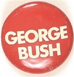 George Bush for US Senate Red Litho