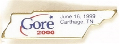 Gore 1999 Tennessee Announcement