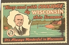 Coolidge Scarce Wisconsin Stamp