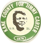 Kane County, Illinois for Jimmy Carter