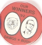 Bush, Quayle Dawgs Our Winners