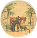 Dr. A.C. Daniels Horse, Cattle and Dog Medicines Mirror
