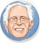 Bernie Sanders Limited Edition color Pin