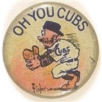 Oh You Cubs Vintage Litho