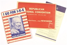 Ike Convention Kit and Record