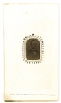 Abraham Lincoln Ferrotype Card