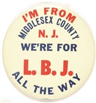 Middlesex County N.J. for LBJ All the Way