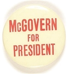 McGovern for President Early Celluloid