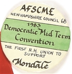 AFSCME First New Hampshire Union to Support Walter Mondale