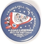 Gore Stars Fell on Alabama 2 1/4 Inch Space Pin