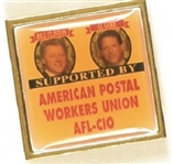 Clinton, Gore Postal Workers