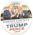 Hardin County Supports Trump, Pence