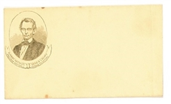 Lincoln 1860 Paper Cover