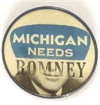 Michigan Needs Romney Flasher