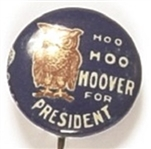 Wise Old Owl Hoo Hoo Hoover for President