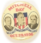 Roosevelt, Earle, Lewis Mitchell Day Pin