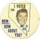 Nevada I Voted for Reagan How About You?