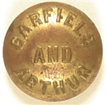 Garfield and Arthur Clothing Button