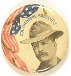 Col. Roosevelt Rough Rider Pin