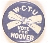 Hoover WCTU Ribbon Celluloid