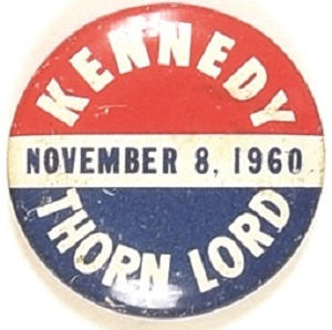 Kennedy, Thorn Lord New Jersey Coattail