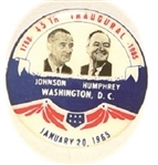 Johnson, Humphrey Great Society Inaugural Jugate