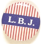Lyndon Johnson LBJ Red Stripes