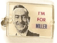 Goldwater, Miller Tie Clasp Flasher
