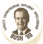 George Bush 1988 Loyalty