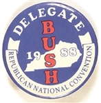 George Bush Kentucky Delegate