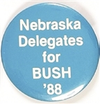 Nebraska Delegates for Bush