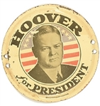 Hoover for President License Attachment