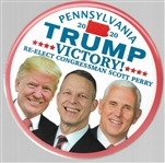 Trump, Pence, Perry Rare Pennsylvania Coattail