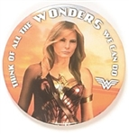 Melania Trump Wonder Woman