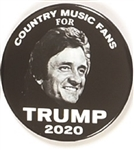 Johnny Cash, Country Music Fans for Trump