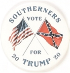 Southerners Vote for Trump