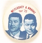 McCloskey, Brooke 1972 Hopeful Ticket