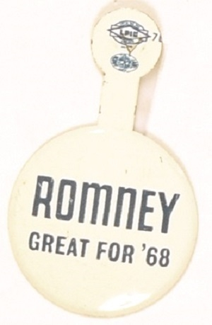 Romney Great for '68 Tab