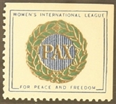 Womens International League for Peace, Freedom Stamp