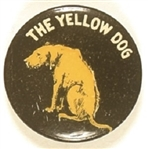 The Yellow Dog, 1930s or 1940s Celluloid