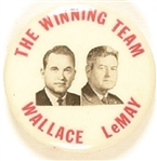 Wallace, LeMay the Winning Team