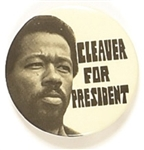 Cleaver for President White Celluloid