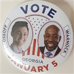 Trio of George Senate Pins from January Runoff