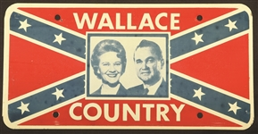 George, Lurleen Wallace Confederate License